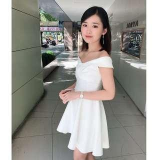 🚚 白色禮服