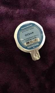 Bath and Body Works Scentportable OCEAN car fragrance refill