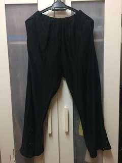 Black vintage pants
