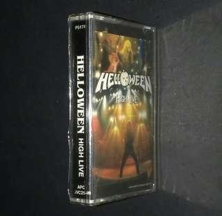 HELLOWEEN - High Live - Cassette Album