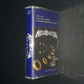 HELLOWEEN - Master Of The Rings - Cassette Album