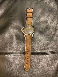Panerai 372 422 423 26mm 代用 皮帶 復古 Vintage for 47mm watch 沛納海 not Rolex Omega IWC