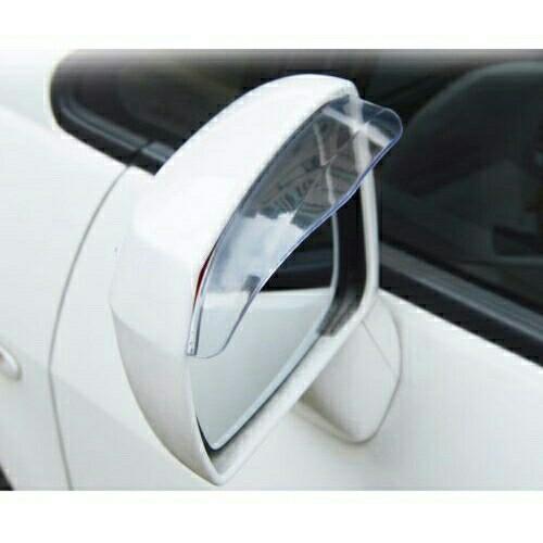 2 REAR VIEW SIDE MIRROR FLEXIBLE SUN VISOR SHADE RAIN SHIELD WATER GUARD For BMW