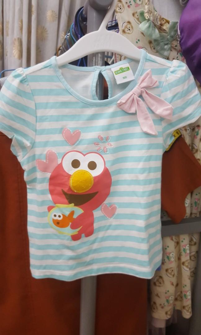 芝麻街 迪士尼童 衫裙褲 2-3歲