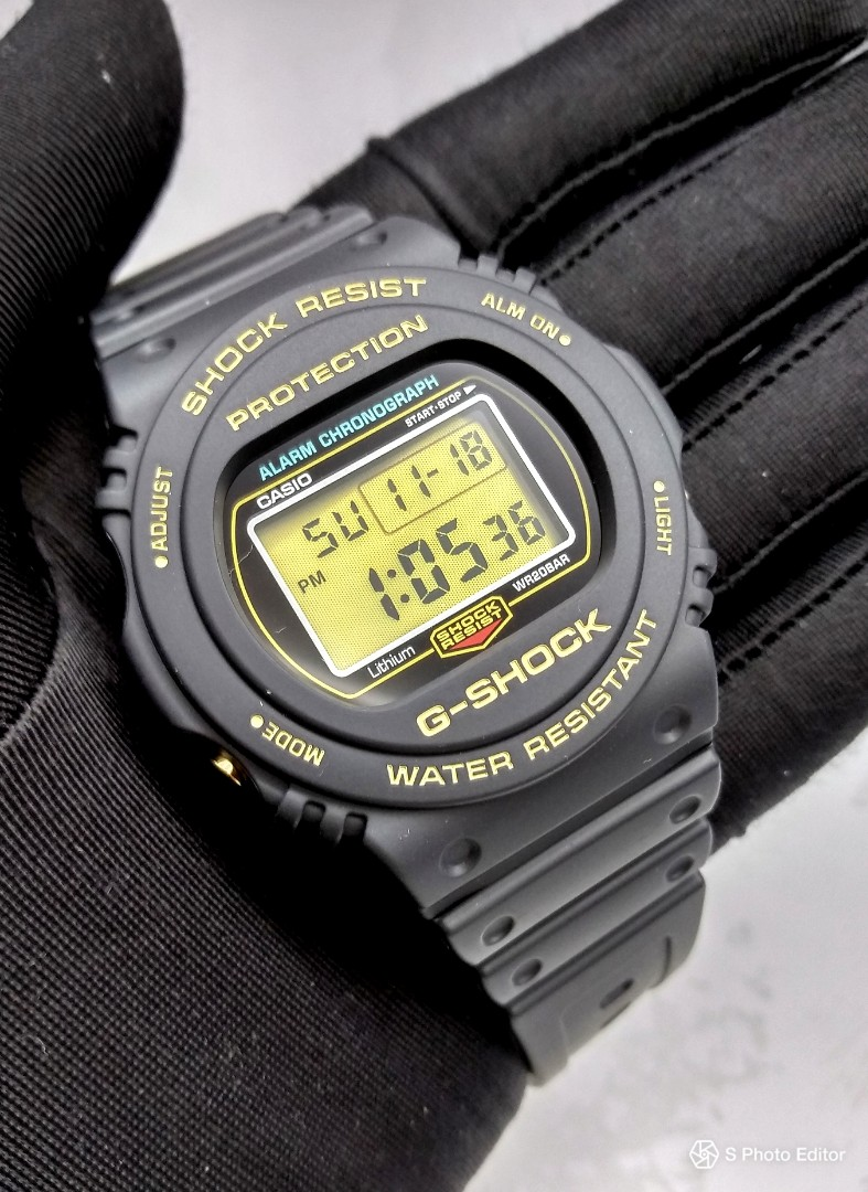 5b76b1daaf2d FREE DELIVERY   35TH Anniversary Brand New 100% Authentic Casio ...