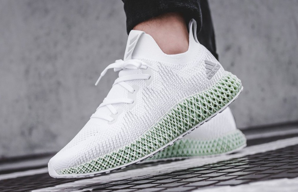 best website ea376 a891d Adidas Alphaedge 4D White US10.5, Mens Fashion, Footwear, Sneakers on  Carousell