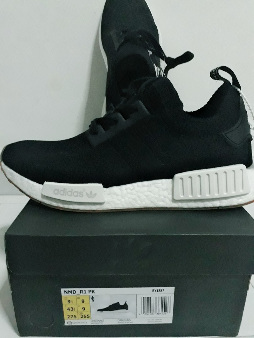 638f9bbbf Adidas Boost NMD Black White for Men s
