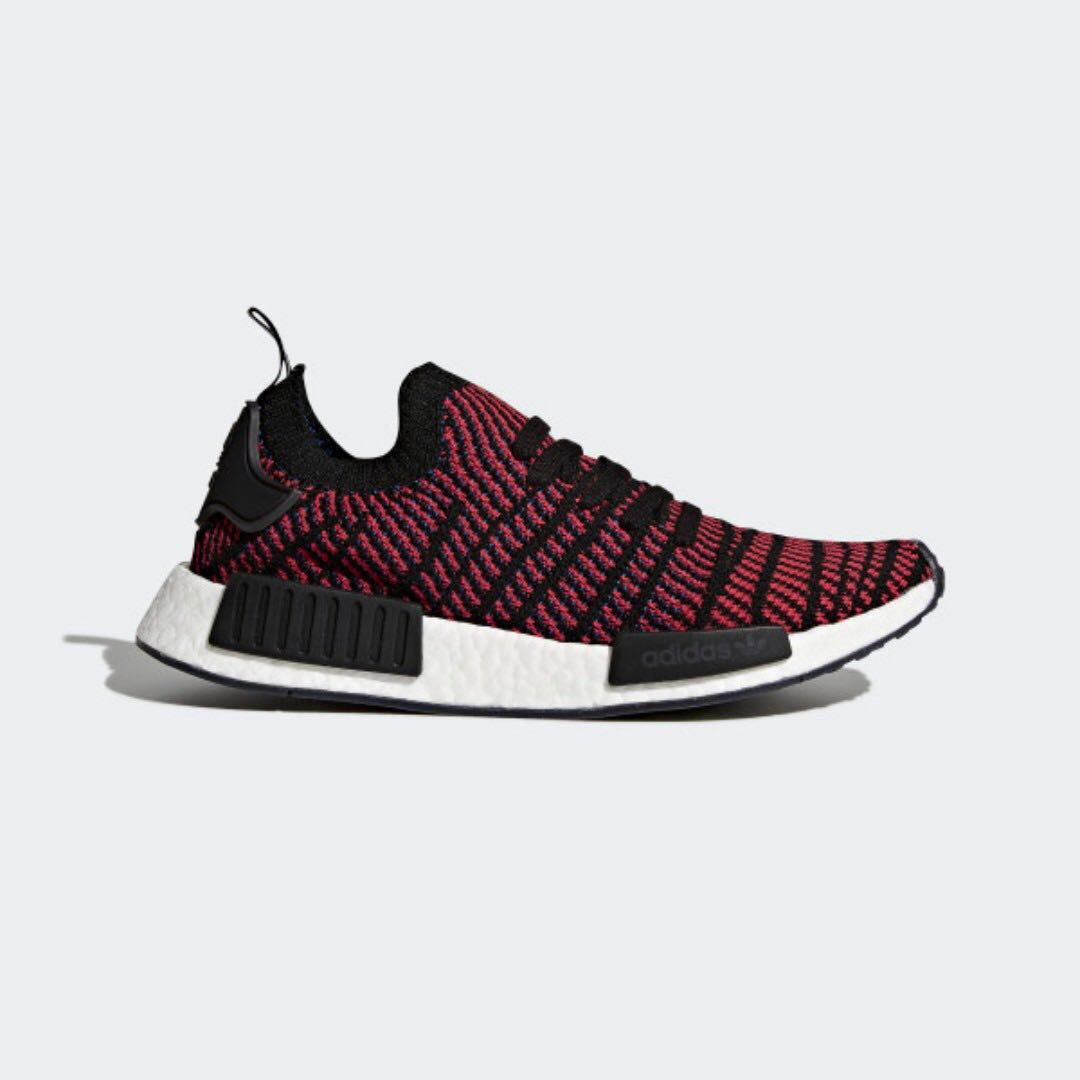 e340c70b3 Adidas NMD R1 STLT Primeknit Shoes Red