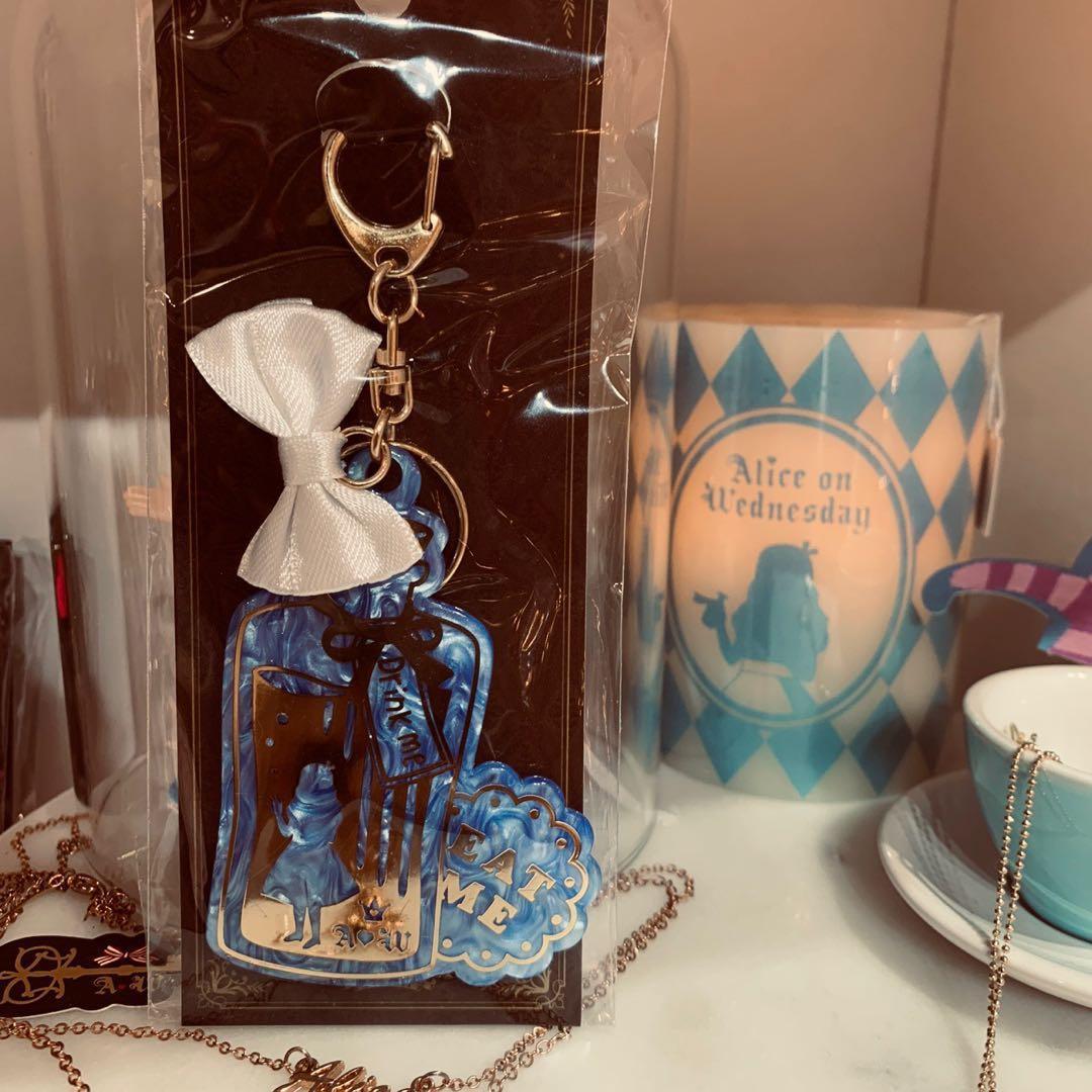 [Alice on Wednesday]愛麗絲/妙妙貓鎖匙牌