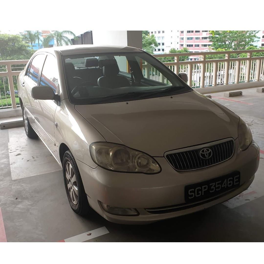 Altis 1.6 auto for rent ! Welcome GRAB/TADA/RYDE/PERSONAL USE