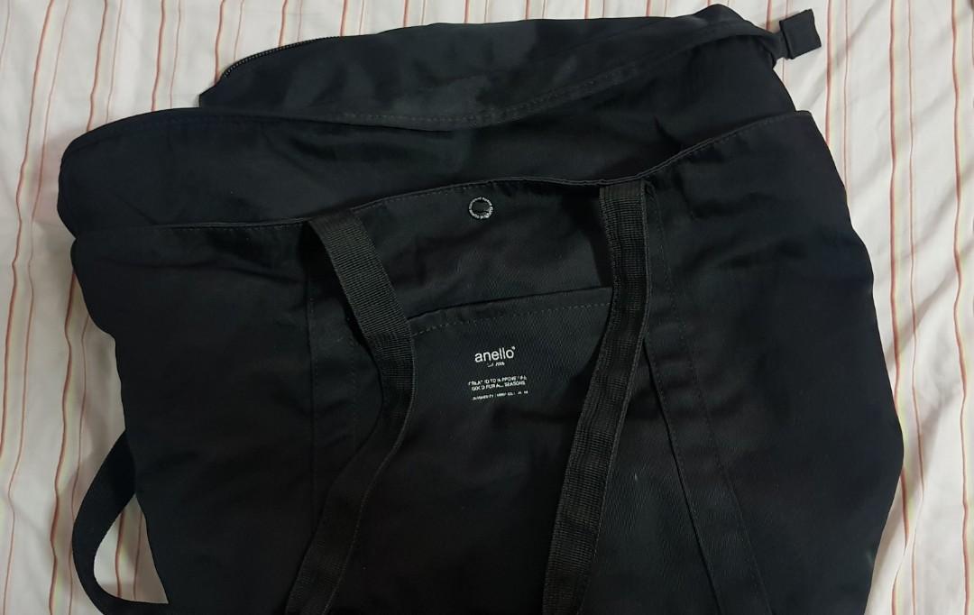 b9102ef49fb4 AUTHENTIC!!! Anello Black Bag