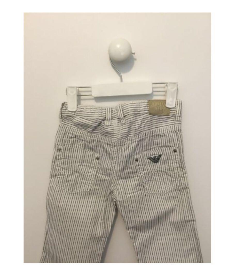 Armani Striped Jeans Size 2 Authentic