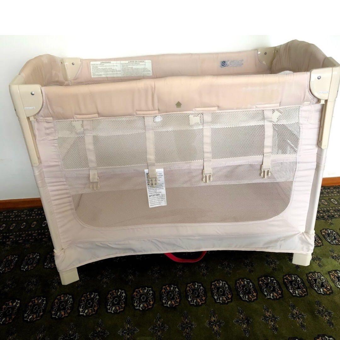 Arm S Reach Co Sleeper Ideal Ezee 3 In 1 Bedside Crib
