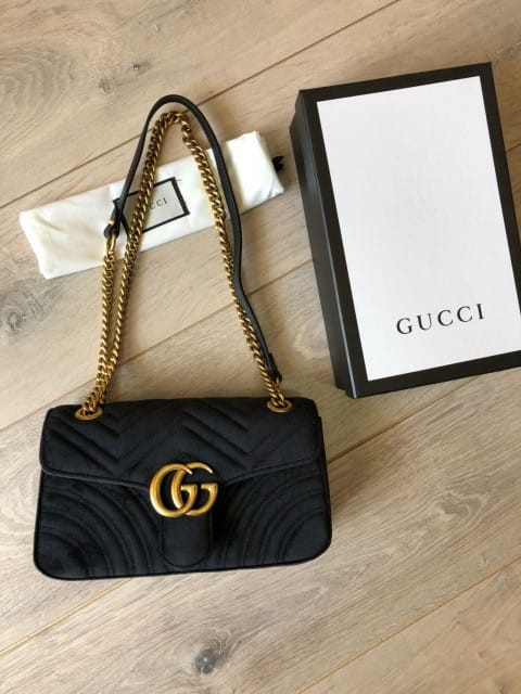 5a5b67161b1c BAG GG MARMONT VELVET VIP AUTHENTIC MIRROR HIGH QUALITY, Luxury, Bags &  Wallets on Carousell