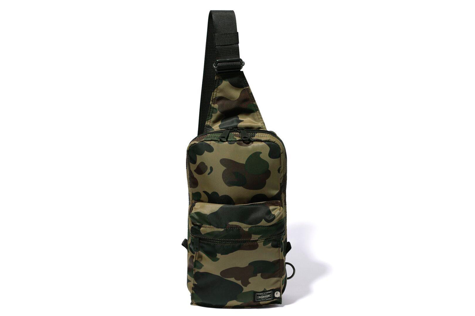 9e6f08e022e6 BAPE X PORTER 1ST CAMO ONE SHOULDER BAG