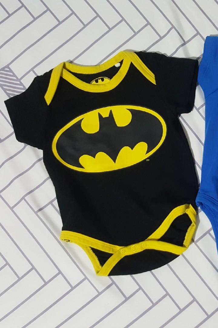 0a518674b Batman Romper, Babies & Kids, Babies Apparel on Carousell