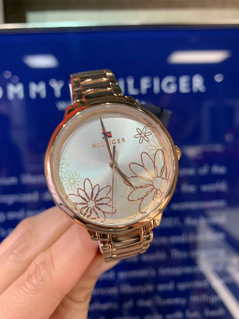 Black Friday Sale Tommy Hilfiger Stainless Steel Ladies Watch