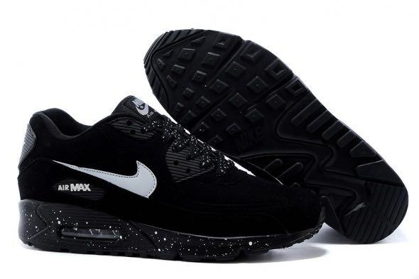 c1c37f0d949a Black Nike Air Max 90 Oreo