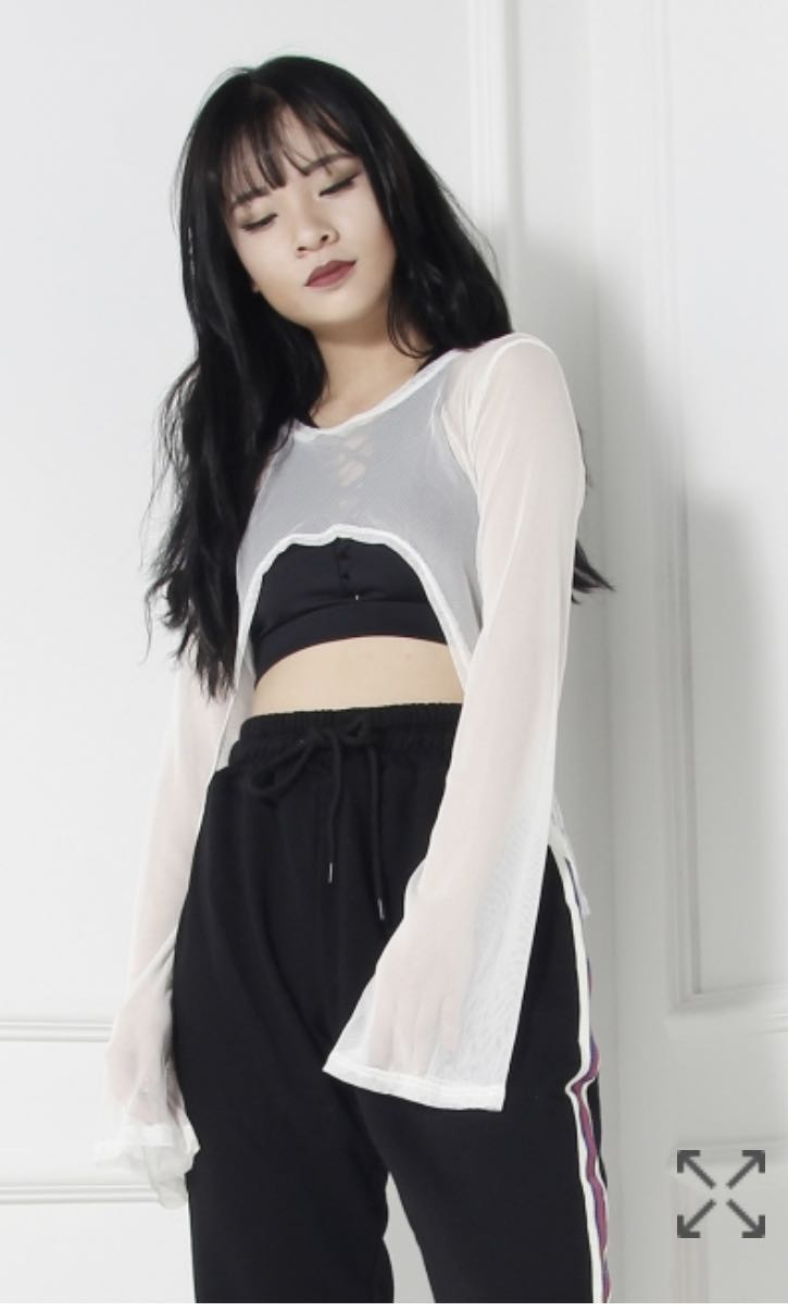 824716571ed0f BN oh so fickle mesh top