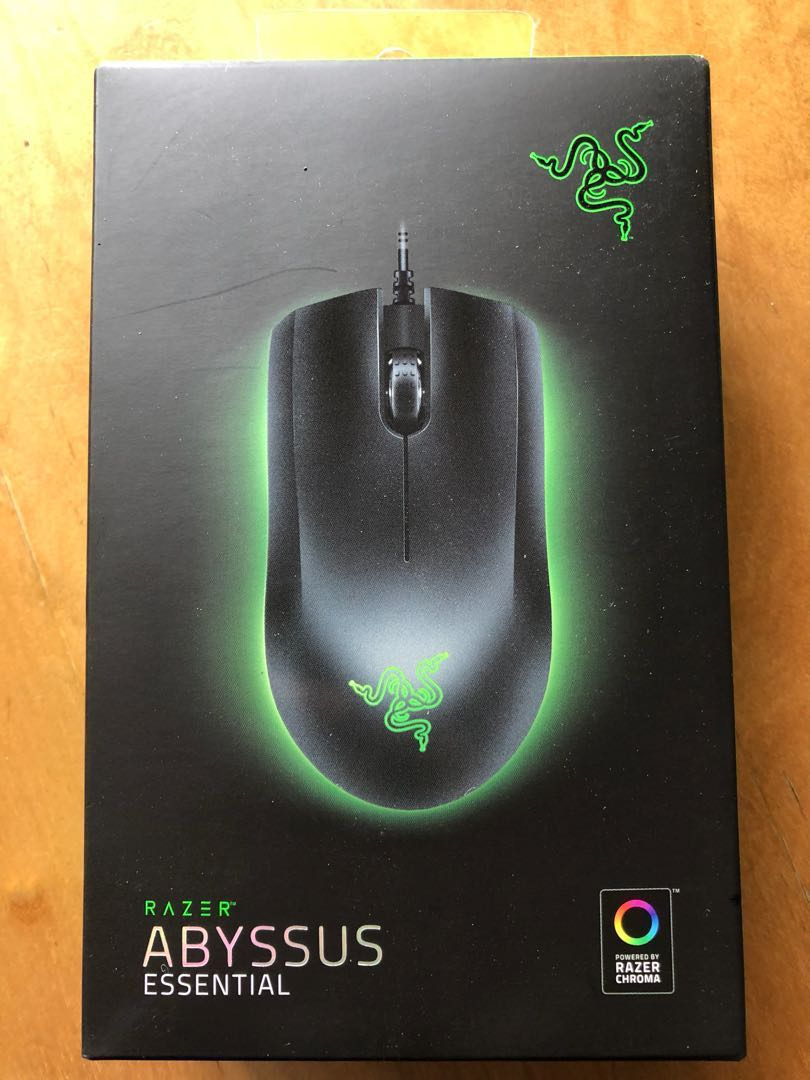 Bnib Razer Abyssus Essential Gaming Mouse Electronics Computer