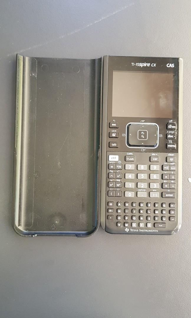 CAS Calculator TI-nspire cx