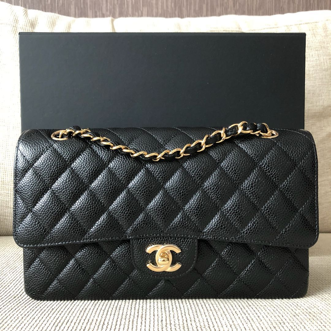 dd284edc1815 Chanel Classic Medium Large GHW, Luxury, Bags & Wallets, Handbags on ...
