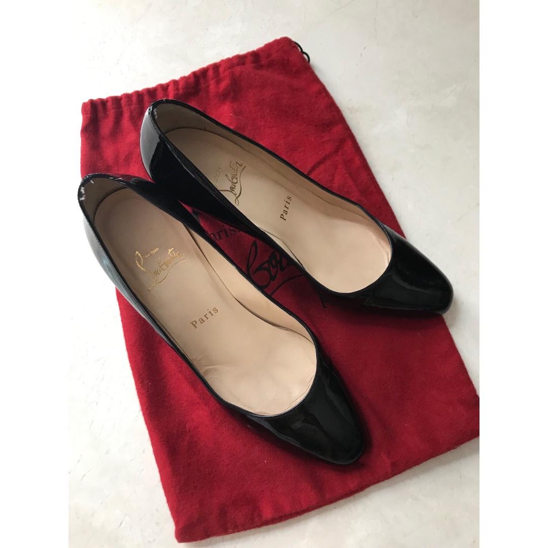 online store 72dd8 c150d Christian Louboutin Classic Black heels