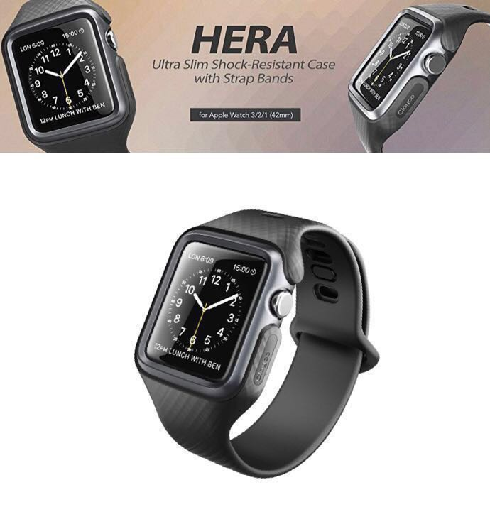 57a0b68dbb8c Clayco Hera Case Band for Apple watch 42mm Series 1 2 3 ...