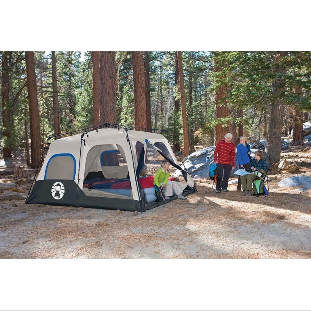 Coleman 8 Person Instant Tent (Comes with Rainfly) From USA.