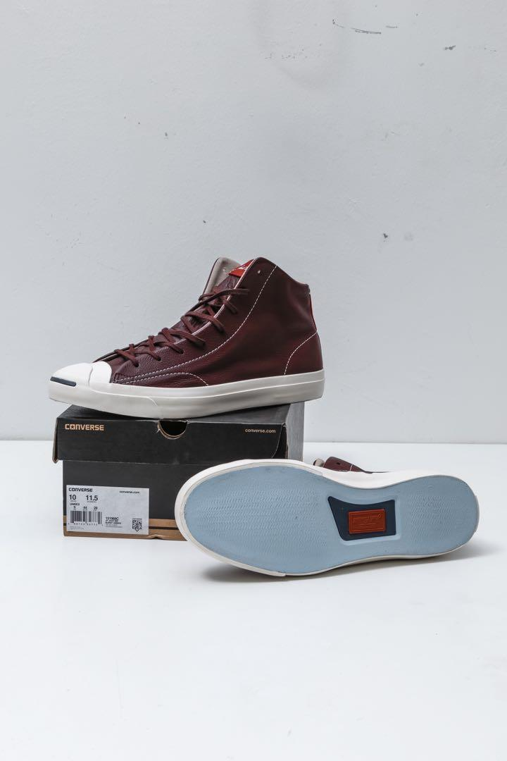 Converse Jack Purcell Mid cut leather