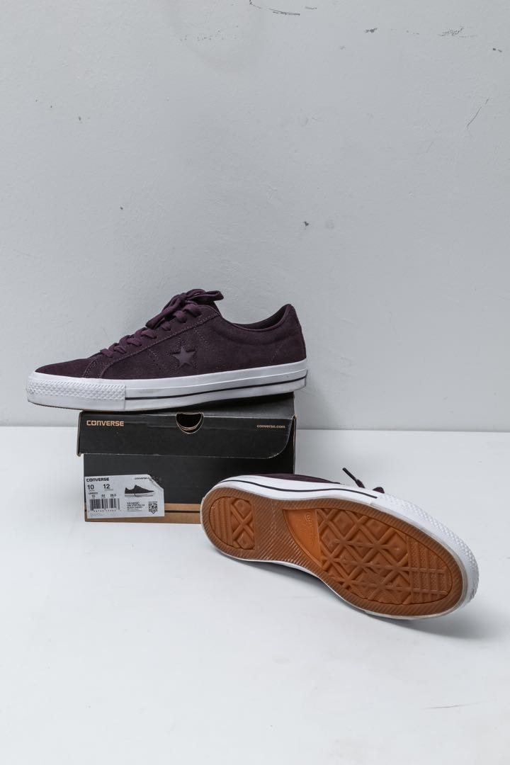 18ba02c3c5f7c8 Converse One Star Pro OX (Black Cherry)