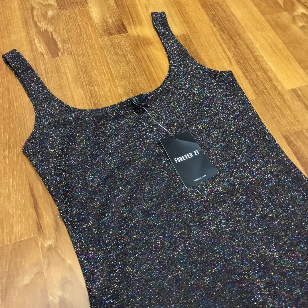 71a9222da Forever 21 glitter dress (Brand new with tag)