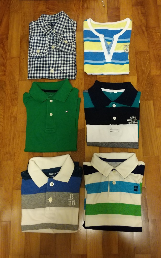 c73e1f983 FREE kids polo shirts etc (4-5yo)