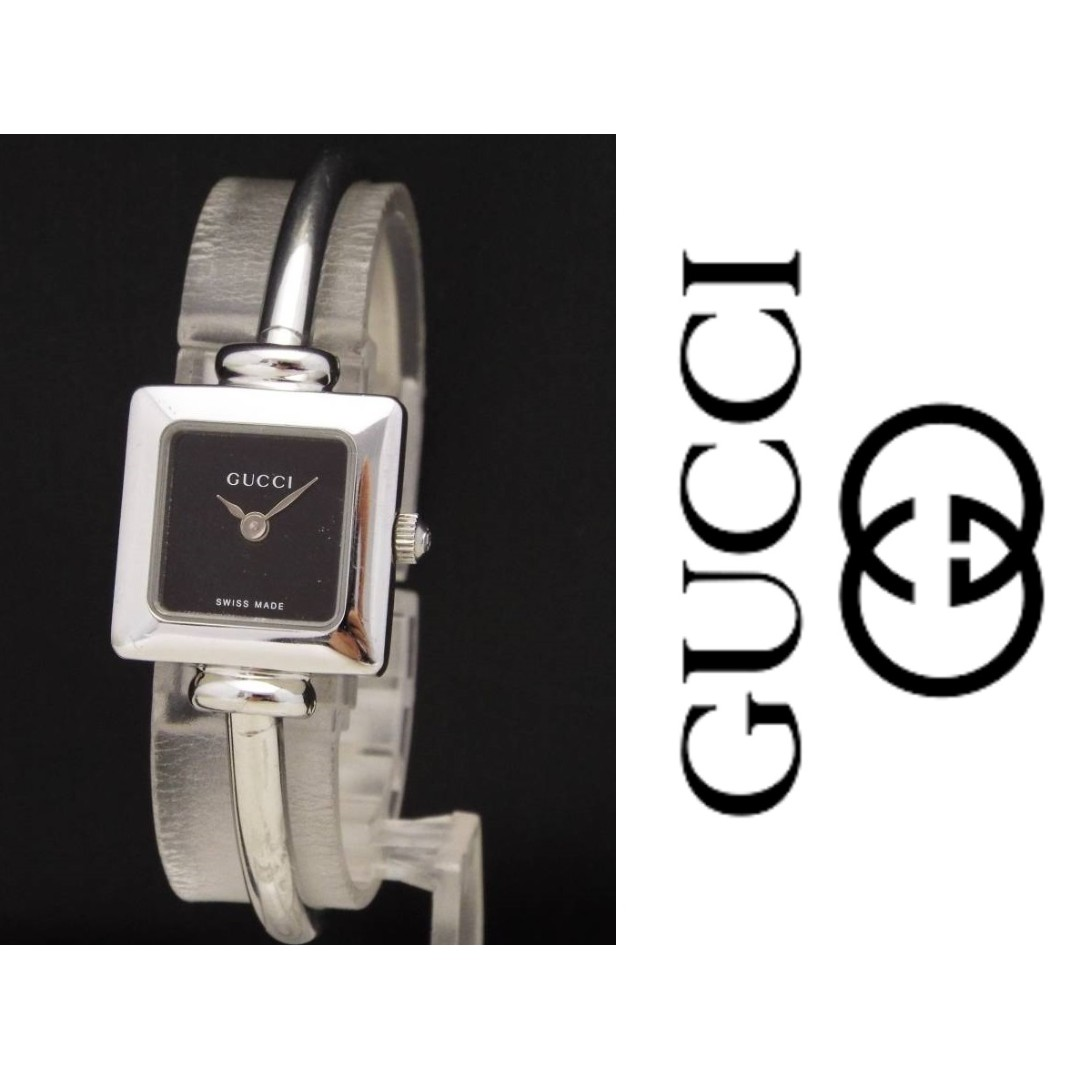 2bac96acd62 GUCCI 1900L VINTAGE LADIES  BANGLE WATCH