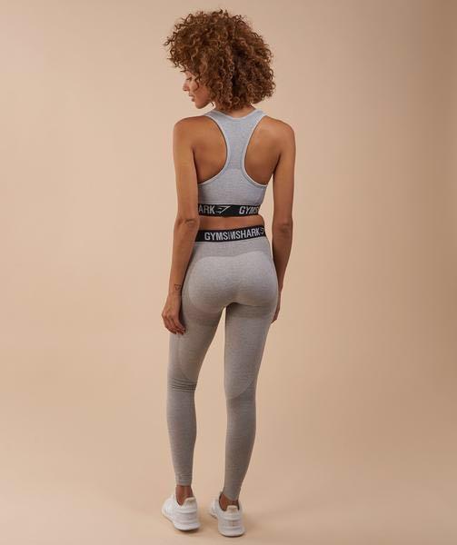 Gymshark Flex Leggings in Light Grey Black Marl 83627d6340d