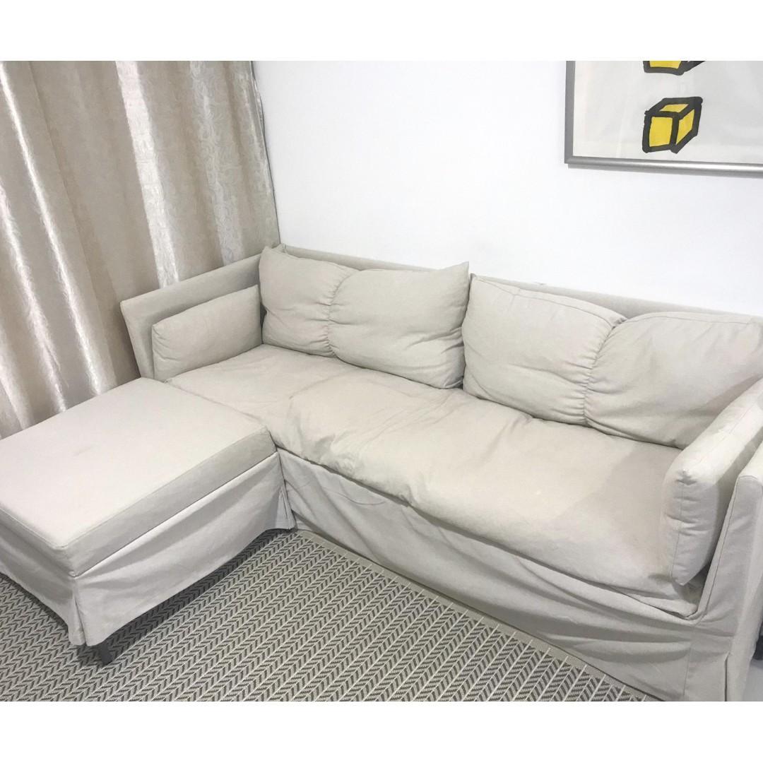 Ikea Sandbacken Corner Sofa Bed