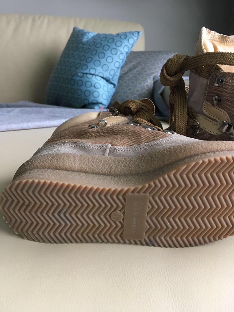 Isabelle Marant Etoile Brent Wedge Hiking Boots
