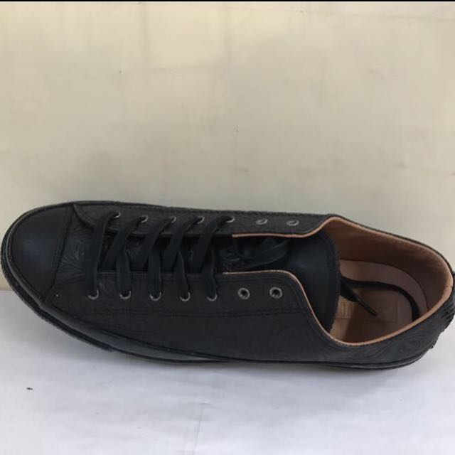 78c079784fa7 CONVERSE 70s CT AS OX LEATHER BLACK   CAMEL