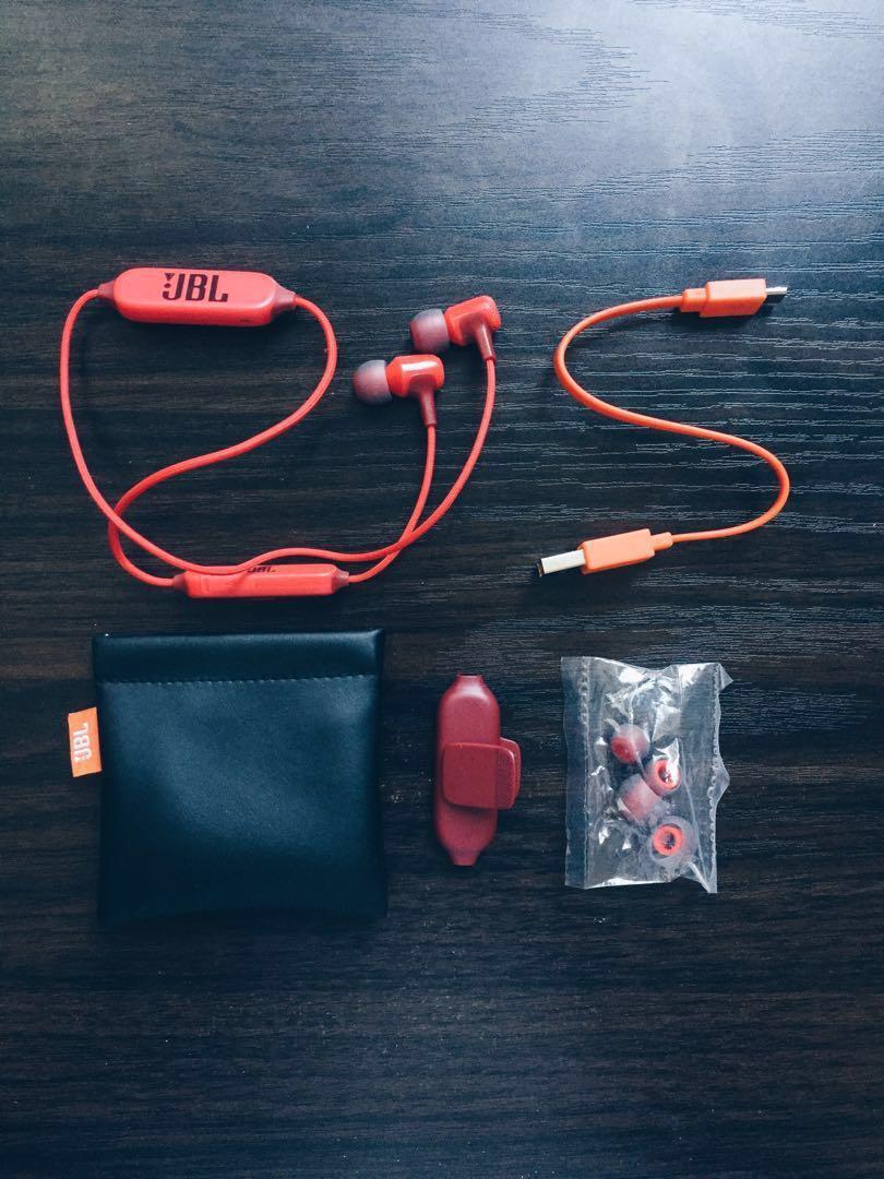 JBL E25BT Wireless In-Ear Bluetooth Headphone