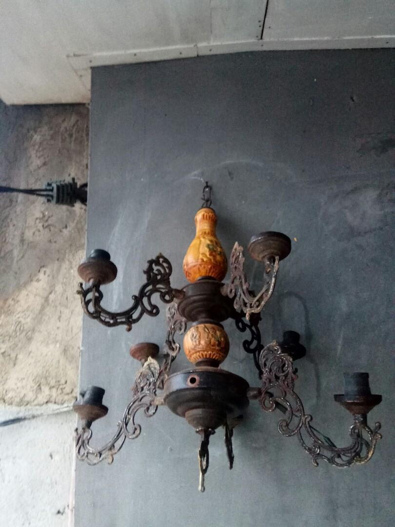 Lampu gantung vintage