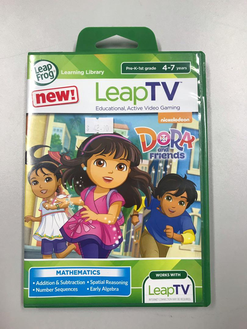 LeapTV game