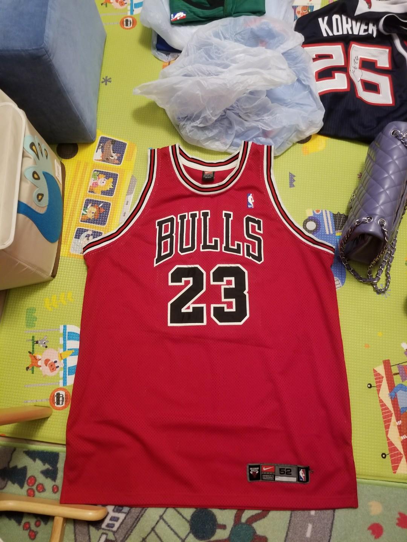 online store e67eb a04dd Nike Authentic Michael Jordan Bulls jersey Rare, Sports ...