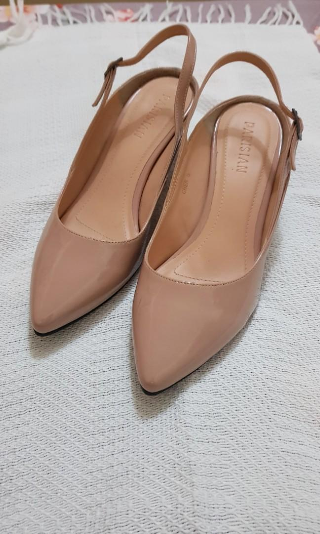 Nude shoes size 6 (used once), Women's
