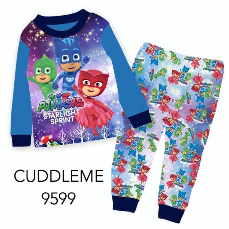 1454e2038f PJ Masks Pajamas - Cuddle Me 9599