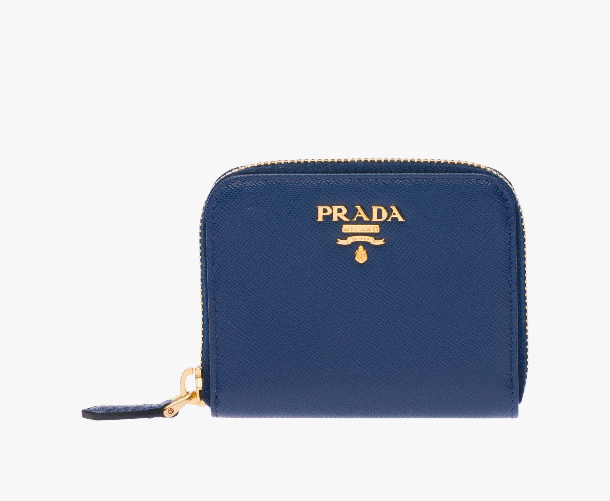 7ed1476c4c13 Prada Saffiano Leather Coin Purse, Women's Fashion, Bags & Wallets ...