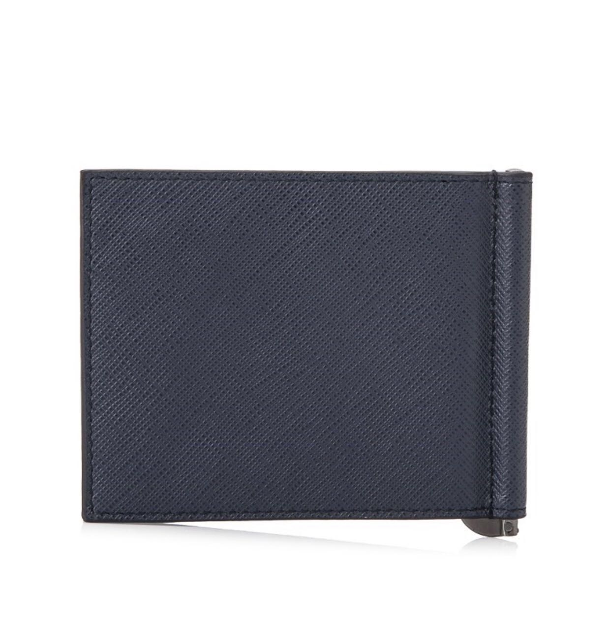 1bbd81d8409d Prada Saffiano Stripe Bifold Wallet, Men's Fashion, Bags & Wallets, Wallets  on Carousell