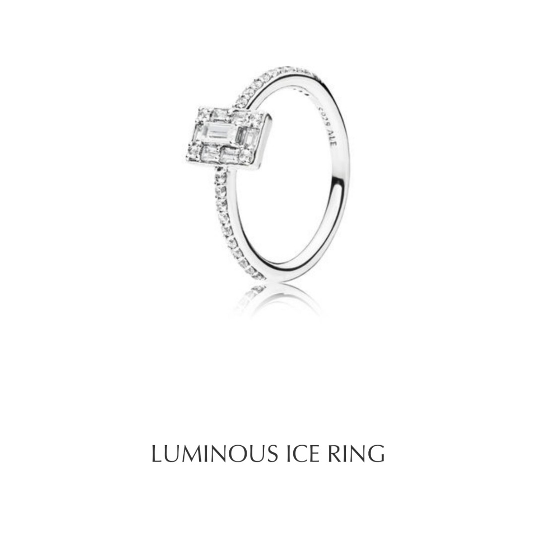 9a2875361 Pre-Order pandora Luminous Ice Ring, Women's Fashion, Jewellery ...