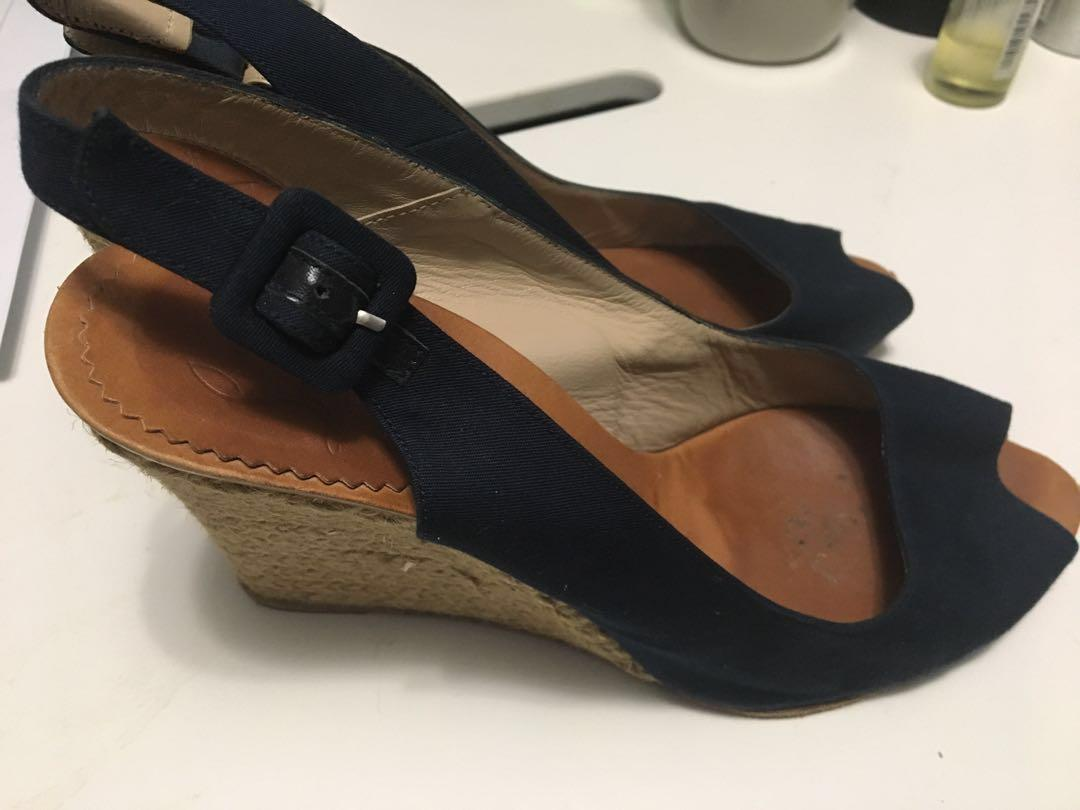 REDUCED Louboutin Size 7 Wedges - Authentic Christian Louboutin