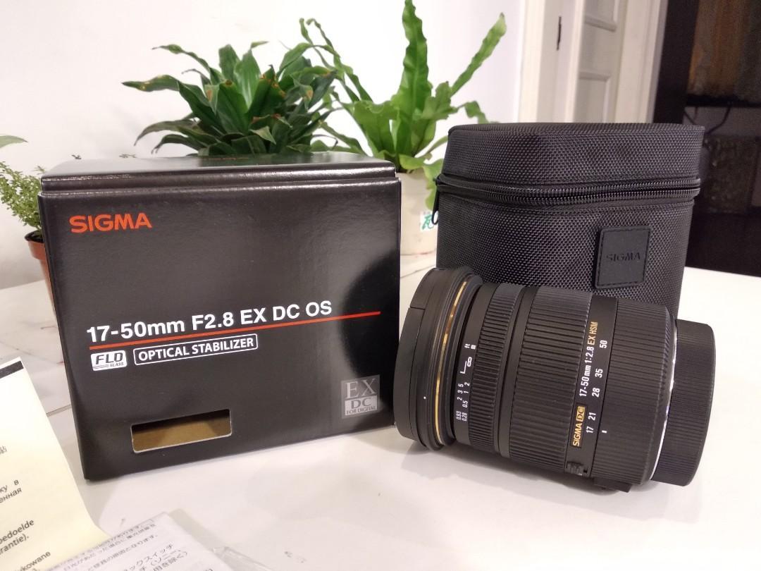 Sigma 17-50mm F2.8 EX DC OS HSM〔Canon版〕