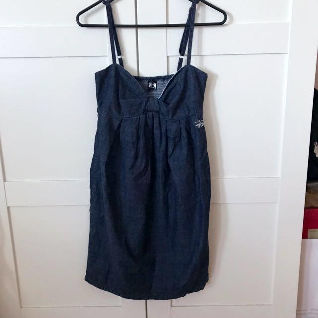 Stussy Denim Dress in Size 8